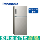 Panasonic國際650L雙門變頻冰箱NR-B659TV-S1含配送到府+標準安裝  【愛買】