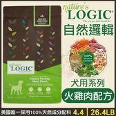 *King Wang*LOGIC自然邏輯天然糧《火雞肉配方》26.4磅 全齡犬糧