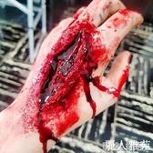 惡搞刀疤血漿舞會動漫劃傷萬圣節紋身貼仿真傷口化妝cosplay派對1 『麗人雅苑』