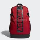 adidas 後背包 Bow Bos Backpack 男女款 紅 黑 大Logo 【PUMP306】 DW4278