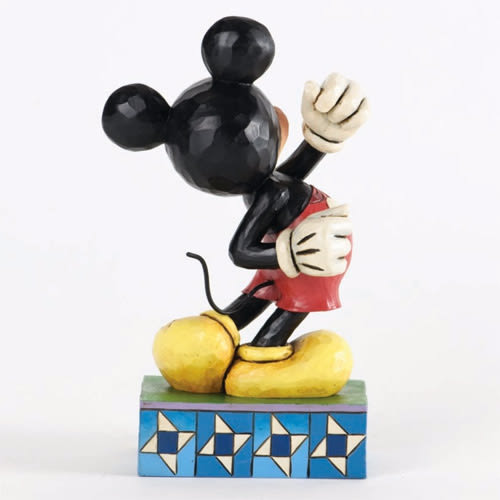 《Enesco精品雕塑》迪士尼米奇塑像-Modern Day Mickey(Disney Traditions)★funbox生活用品★_EN55436