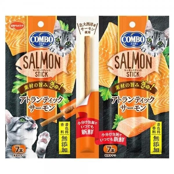 『寵喵樂旗艦店』日本Combo北大西洋《鮭魚點心棒》單條活動 四種口味可選 貓零食