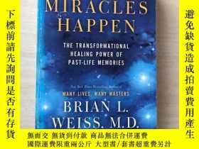 二手書博民逛書店Miracles罕見Happen: The Transforma