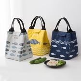 牛津布飯盒袋加厚保溫袋便當包手提包學生防水便當袋飯盒包手提袋