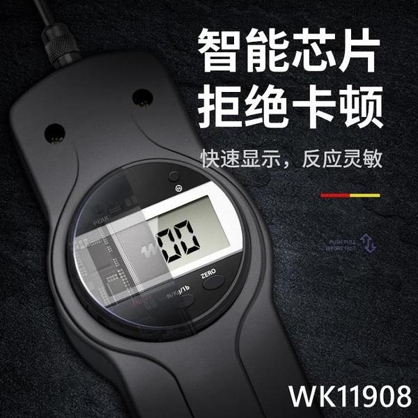 韋度拉力測試儀指針式數顯推拉力計測試儀拉力機試驗機彈簧測力計 wk11808