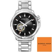 GIORGIO FEDON 1919 鏤空黑面鋼帶機械錶 GFCG005 42mm 公司貨 | 名人鐘錶高雄門市