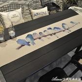 桌旗北歐棉麻布藝桌布現代簡約臺布餐桌中式茶幾長方形桌布餐桌巾交換禮物