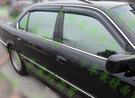 【一吉】BMW E38 外銷日本-原廠款 晴雨窗 台灣製造,工廠直營(E38晴雨窗 E38 晴雨窗 BMW晴雨窗