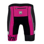 Santini Sleek 2.0 光滑二代低阻力女性兩截式三項服短褲 粉紅色【好動客】