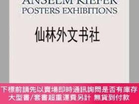 二手書博民逛書店【罕見】Anselm Kiefer - Posters ExhibitionsY27248 Anselm Ki