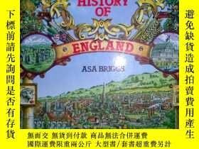 二手書博民逛書店A罕見SOCIAL HISTORY OF ENGLAND(精裝3