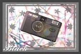 ONE SHOT 底片相機 幻影黑 傻瓜相機 傳統膠捲 相機 復古風格 熱銷商品 可重覆使用 可傑