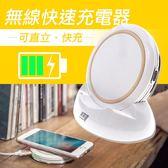 專利認證 NCC認證 極致三合一無線快速充電圓盤充電器(二色)【MGT005】