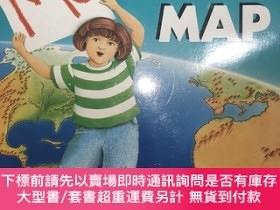 二手書博民逛書店Me罕見On The MapY480169 Joan Sweeney Dragonfly Books 出版1