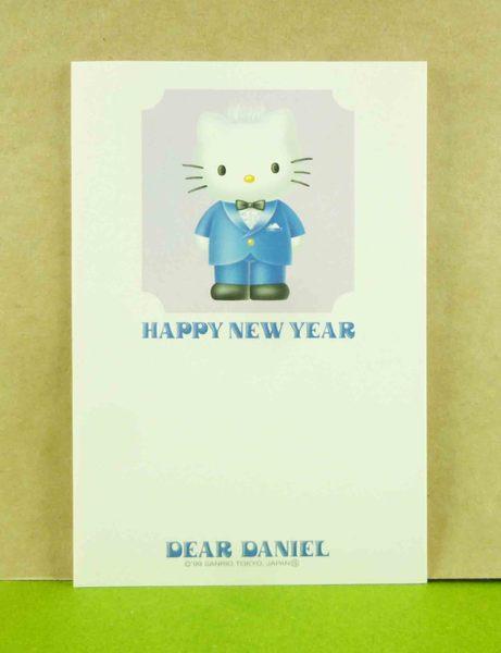 【震撼精品百貨】Hello Kitty 凱蒂貓~3入明信片-丹尼爾