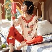 睡衣女秋季長袖韓版甜美可愛公主風少女家居服套裝冬天 LR14809【Sweet家居】