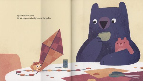 【麥克書店】BEAR OUT THERE /英文繪本《主題:溫馨友誼》by Jacob Grant