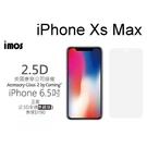 【免運】imos 2.5D全透明美觀半版玻璃螢幕保護貼 iPhone Xs Max (6.5吋) 美商康寧公司授權