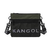 KANGOL 綠色側背包-NO.6125170370