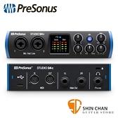Presonus Studio 24c 2進2出 錄音介面/錄音界面 USB-C 最高取樣頻率192 kHz【原廠公司貨 一年保固】
