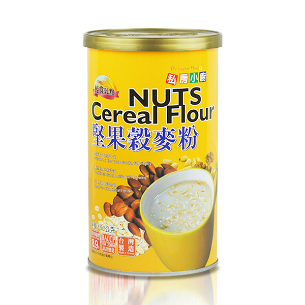 私房小廚 • 堅果穀麥粉/600公克/罐