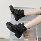 馬丁靴 馬丁靴女冬英倫風2021年新款百搭瘦瘦機車短靴潮女鞋子 愛丫 新品