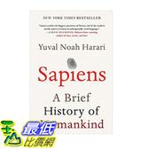 [106美國直購] 2017美國暢銷書 Sapiens:A Brief History of Humankind