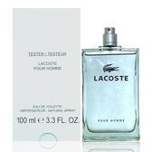 Lacoste Pour Homme 坦白男性淡香水 100ml Tester 包裝
