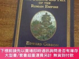 二手書博民逛書店The罕見Decline and Fall of the Roman Empire (羅馬帝國的衰亡史) 8開精裝