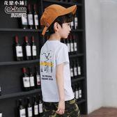 短袖T恤  童裝男童夏天短袖T恤兒童體恤衫男孩t恤2019夏裝新款韓版