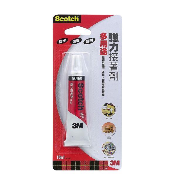 強力膠 3M Scotch 6004S 多用途強力膠 15ml【文具e指通】量販.團購