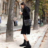 孕婦秋裝上衣2020新款孕媽潮裝寬鬆加厚連身裙中長款秋冬裝潮 新年特惠
