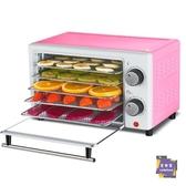 干果機 干果機食物脫水風干機家用小型水果蔬菜肉類食品烘干機T