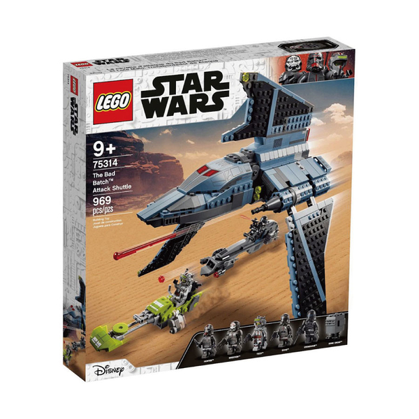LEGO樂高 75314 The Bad Batch™ Attack Shuttle 玩具反斗城