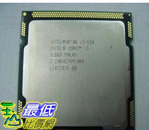 [玉山最低網] Intel 酷睿 Core i3 550 CPU (散裝) 質保一年 正式版 $4112