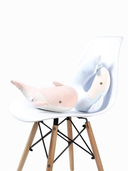 大魚U型枕二合一可愛卡通頸枕旅行飛機坐車護頸枕頭頸部U形 青山市集