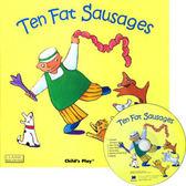 『鬆聽出英語力--第7週』- TEN FAT SAUSAGES  /書+CD 《主題:歌謠故事》