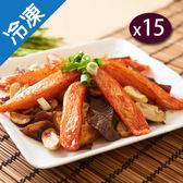 日式風味蟹棒250G±5%/包(魚漿製品)x15【愛買冷凍】