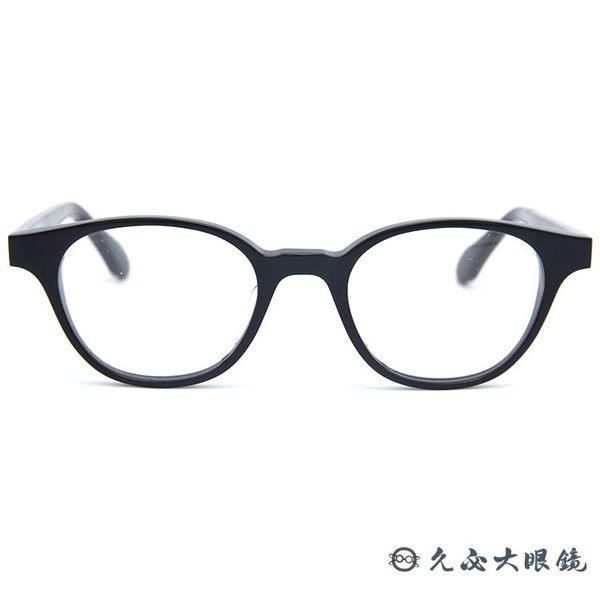杉本圭 日本手工眼鏡 KS-85 (黑) 波士頓 圓框 眼鏡 久必大眼鏡