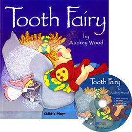 【麥克書店】TOOTH FAIRY /英文繪本附CD《傳統故事》《歡唱》