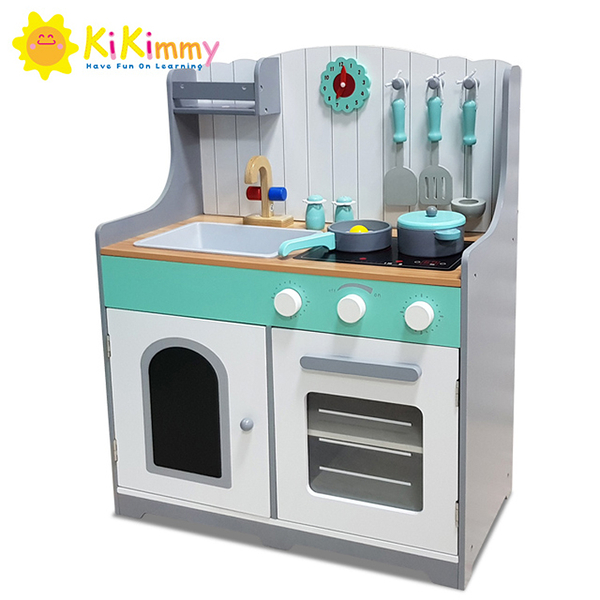 K352 Kikimmy格陵蘭鄉村木製廚房玩具【德芳保健藥妝】