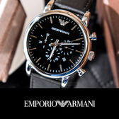 EMPORIO ARMANI 亞曼尼 迷人魅力時尚精品錶 AR1828