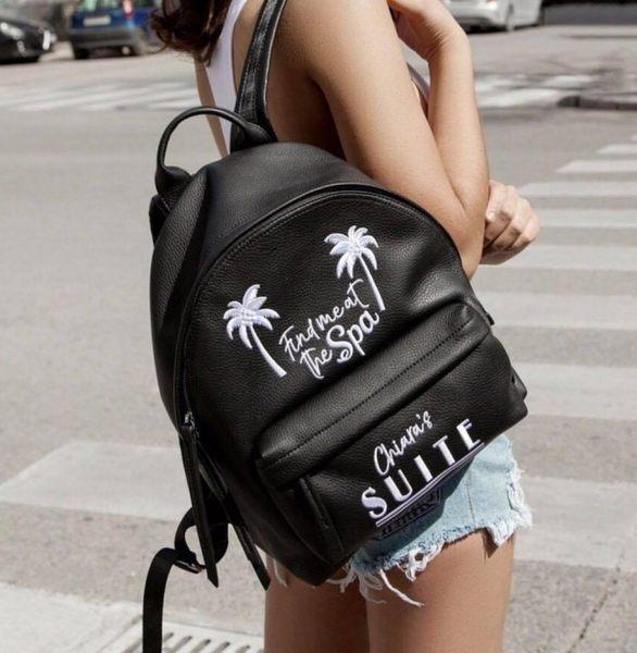■2018春夏 ■專櫃7折 Chiara Ferragni 全新真品 CFZ029 棕梠樹夏日限量後背包