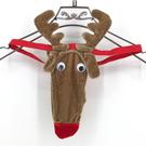 男式萌萌麋鹿造型丁字褲猛男男公關情趣內褲夜店跑趴必備聖誕節交換禮物女衣