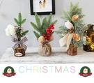 聖誕節盆栽裝飾 聖誕節裝飾 耶誕裝飾 耶誕立體裝飾擺件 聖誕節居家佈置裝飾道具