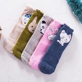 女童襪子純棉秋冬款公主冬天兒童棉襪中大童女孩5加厚寶寶1-3歲