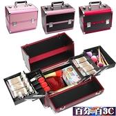 化妝箱 紋繡工具箱專業手提美容美甲美睫多層大容量化妝箱紋眉師專用箱子 WJ百分百
