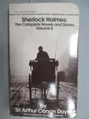 【書寶二手書T1/原文小說_LPD】Sherlock Holmes:The Complete Novels and Stories_Vol.II