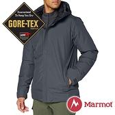 【Marmot】男 單件式GT羽絨保暖連帽外套『大理石灰』11230-1515 戶外 休閒 登山 露營 保暖 禦寒 防風