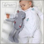 寶寶睡覺安撫玩具布藝可入口新生嬰兒可以咬的布偶毛絨玩偶熊睡眠